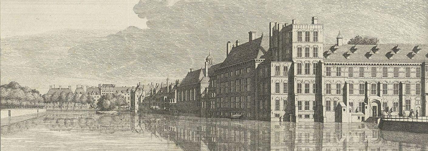 Het Hof van Holland begon met een zoen…